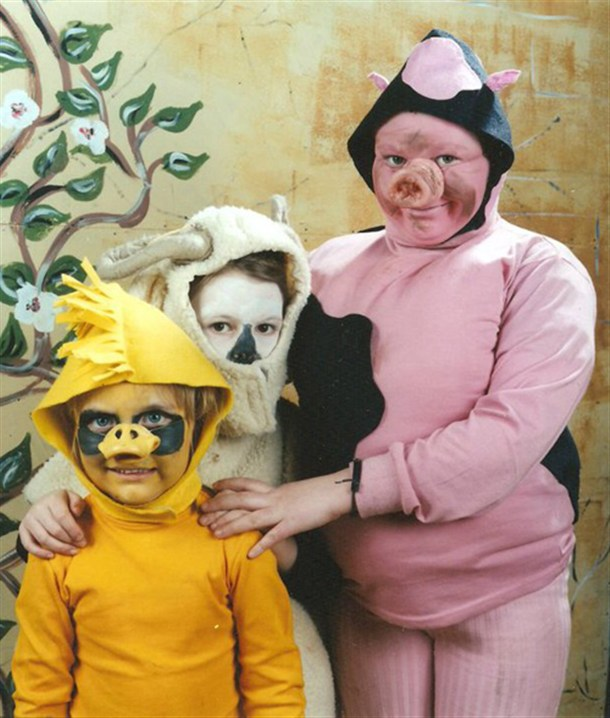 Famille cochon