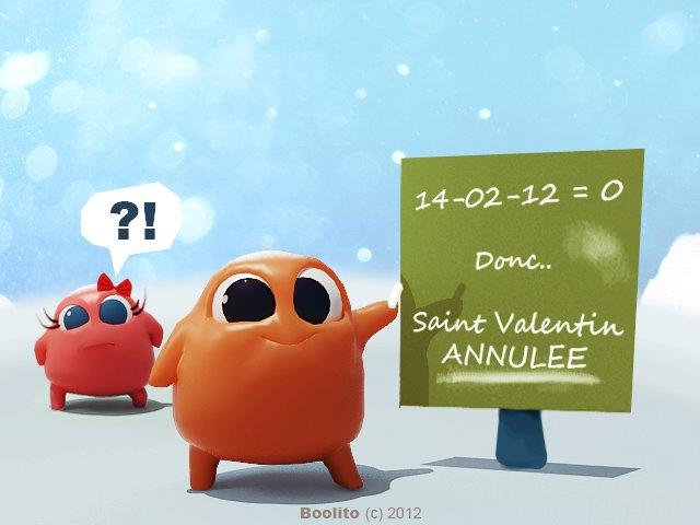 La Saint Valentin est annulée