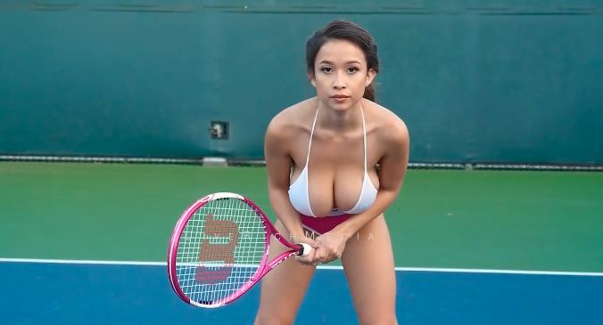 Qui est tenté par une partie de tennis avec Elizabeth Anne ?