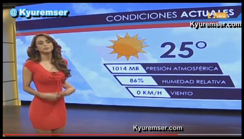 Yanet Garcia, miss météo sexy !