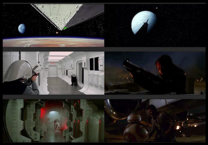 Un internaute compare des scènes de deux épisodes de Star Wars… la ressemblance est bluffante !!