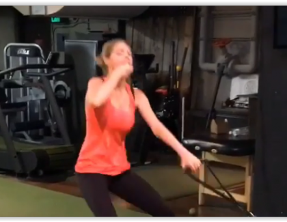 VIDEO – Le sport selon Kate Upton…