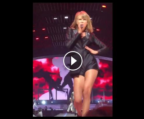 VIDEO: Le playback complètement loupé de Taylor Swift !