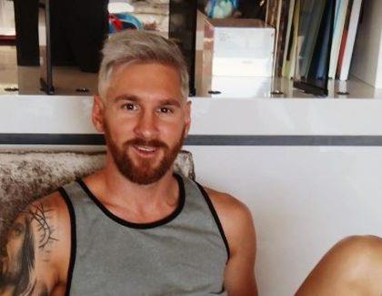 PHOTO – Lionel Messi change de look !