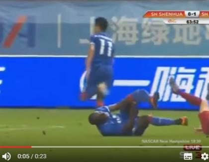 VIDEO: La terrible blessure d'un joueur de foot