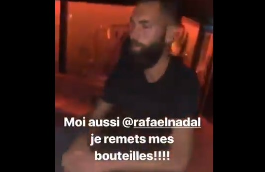 Quand Benoit Paire se fout de la tronche de Nadal… (VIDEO)