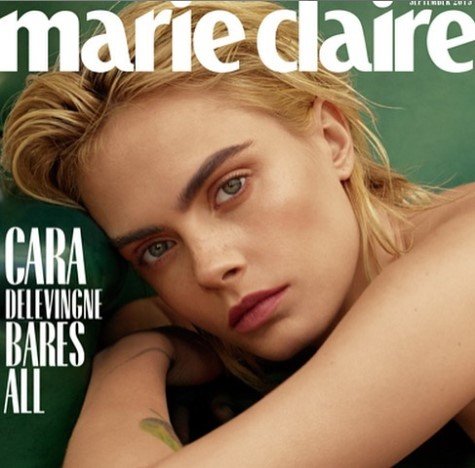 Cara Delevingne montre ses fesses dans Marie-Claire ! (PHOTOS)
